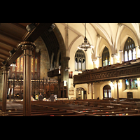 New York (NY), First Presbyterian Church - Chapel Organ, Innenraum gesamtansicht in Richtung Orgel
