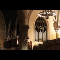 New York (NY), First Presbyterian Church - Main Organ, Orgel von der hinteren Seitenempore aus gesehen