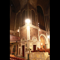 New York (NY), St. Bartholomew's Episcopal Church, Pfeifen im Chorraum