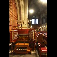 New York (NY), St. Bartholomew's Episcopal Church, Spieltisch und Innenraum