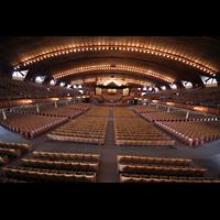 Ocean Grove (NJ), Great Auditorium, Blick von der Empore der Gallery Organ in den Innenraum
