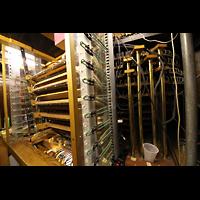 Philadelphia (PA), Macy's (''Wanamaker'') Store, Kontaktbänke der Manuale und Registerschalter / Vakuumröhren links
