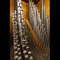 Philadelphia (PA), Macy's (''Wanamaker'') Store, Choir - Zungen, Flöten und Dulciana 16' - in der Mitte der Stopped Diapason (Holz)