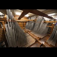 Philadelphia (PA), Macy's (''Wanamaker'') Store, String Organ - Muted Violins, mittlere Kammer mit Kimball Strings