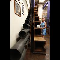 Philadelphia (PA), Macy's (''Wanamaker'') Store, String Pedal - Diaphone 32' (Holz) und Contra Gamba 32' (Metall)