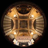 Philadelphia (PA), Irvine Auditorium (''Curtis Organ''), Gesamter Innenraum