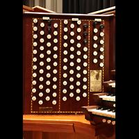 Philadelphia (PA), Irvine Auditorium (''Curtis Organ''), Linke Registerstaffel