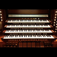 Philadelphia (PA), Irvine Auditorium (''Curtis Organ''), Manuale und Koppeln
