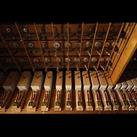 Philadelphia (PA), Irvine Auditorium (''Curtis Organ''), Austin Traktur (Luftkammer mit Ventilen) für eine Windlade des Great