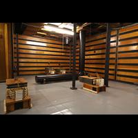 Philadelphia (PA), Irvine Auditorium (''Curtis Organ''), Great/Swell division Luftkammern mit pneumatischer Schwellmechanik