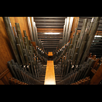Philadelphia (PA), Irvine Auditorium (''Curtis Organ''), Pfeifen im Schwellwerk
