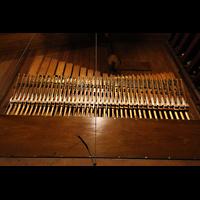 Philadelphia (PA), Irvine Auditorium (''Curtis Organ''), Harfe in der Pfeifenkammer des Great