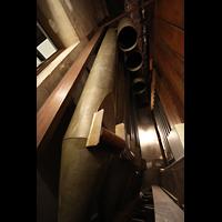 Philadelphia (PA), Irvine Auditorium (''Curtis Organ''), Violone 32' in der linken Stage Pedal Pfeifenkammer