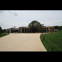 Kennett Square (PA), Longwood Gardens - Ballroom, Ballroom-Gebäude von außen