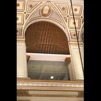 Philadelphia (PA), Macy's (''Wanamaker'') Store, Pfeifen der Echo Organ gegenüber der großen Orgel, installiert 1912, später in der Größe verdoppelt