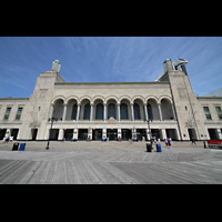 Atlantic City (NJ), Boardwalk Hall (''Convention Hall''), Boardwalk Hall Fassade