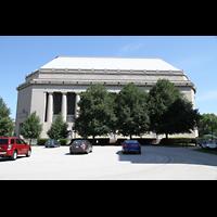 Philadelphia (PA), Girard College Chapel, Ansicht von der Seite