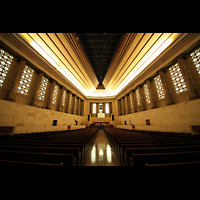 Philadelphia (PA), Girard College Chapel, Innenraum in Richtung Bühne