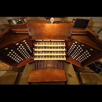 Philadelphia (PA), Girard College Chapel, Spieltisch von oben