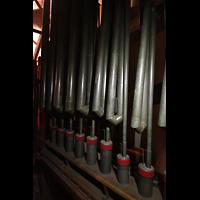 Philadelphia (PA), Girard College Chapel, Die 12 tiefsten Pfeifen des Fagotto 32'