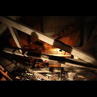 Philadelphia (PA), Girard College Chapel, Vor den Great-Mixturen: Pedal-Labiale Violon 32'-8', Bourdons, Diapason 16'-4' und Mixtur