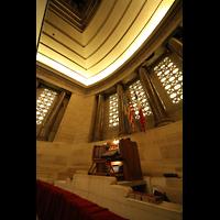 Philadelphia (PA), Girard College Chapel, Spieltisch und Bühne