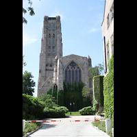 Chicago (IL), University, Rockefeller Memorial Chapel, Ansicht vom Chor aus
