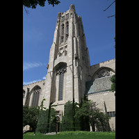 Chicago (IL), University, Rockefeller Memorial Chapel, Turm