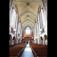 Chicago (IL), University, Rockefeller Memorial Chapel, Innenraum in Richtung Chor