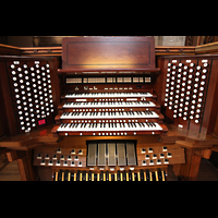 Chicago (IL), University, Rockefeller Memorial Chapel, Spieltisch