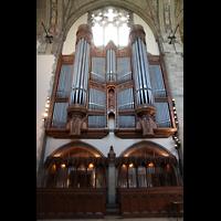 Chicago (IL), University, Rockefeller Memorial Chapel, Orgelprospekt