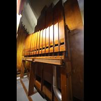 Chicago (IL), University, Rockefeller Memorial Chapel, Pfeifen des Major Bass 32' im Pedal