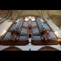 Chicago (IL), University, Rockefeller Memorial Chapel, Orgel perspektivisch
