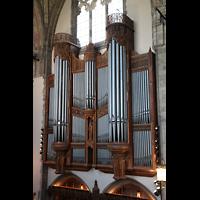 Chicago (IL), University, Rockefeller Memorial Chapel, Blick von der gegenüberliegenden Empore zur Orgel