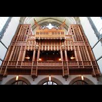 Chicago (IL), University, Rockefeller Memorial Chapel, Orgel auf der Westempore