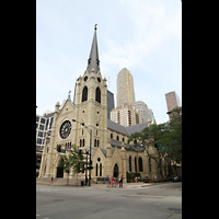 Chicago (IL), Cathedral of the Holy Name (Hauptorgel), Außenansicht