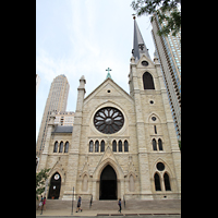 Chicago (IL), Cathedral of the Holy Name (Hauptorgel), Fassade