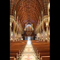 Chicago (IL), Cathedral of the Holy Name (Hauptorgel), Hauptschiff in Richtung Orgel