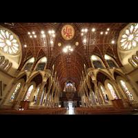 Chicago (IL), Cathedral of the Holy Name (Hauptorgel), Querhaus und Blick zur Hauptorgel