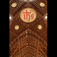 Chicago (IL), Cathedral of the Holy Name (Hauptorgel), Decken-Deokration