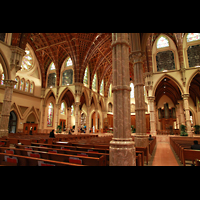 Chicago (IL), Cathedral of the Holy Name (Hauptorgel), Innenraum mit Chororgel