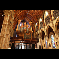 Chicago (IL), Cathedral of the Holy Name (Hauptorgel), Hauptorgelempore