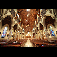 Chicago (IL), Cathedral of the Holy Name (Hauptorgel), Hauptschiff in Richtung Chor