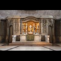 Dresden, Kreuzkirche, Altar