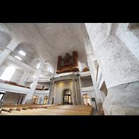 Dresden, Kreuzkirche, Innenraum in Richtung Orgel