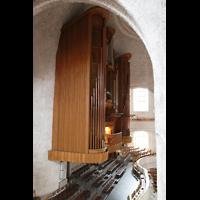 Dresden, Kreuzkirche, Orgel von der Seitenempore aus gesehen