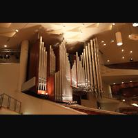Berlin (Tiergarten), Philharmonie, Orgel von schräg hinten gesehen