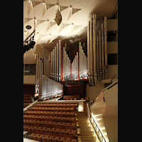 Berlin (Tiergarten), Philharmonie, Orgel mit neuen Chamaden
