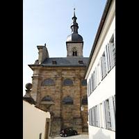 Bamberg, St. Stephan, Außenansicht