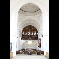 Bamberg, St. Stephan, Orgelempore